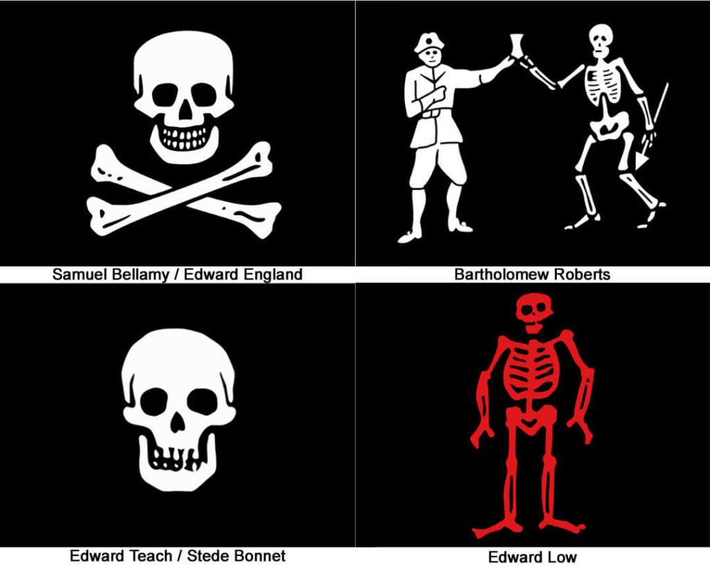 #TDTPiratesWentMad - a Black Flag - Collage
