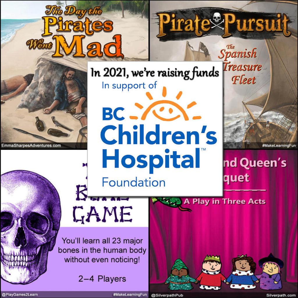 EmmaSharpesAdventures.com - In support of BCCHF.ca