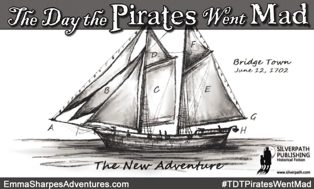 Silverpath.com - #TDTPiratesWentMad - The New Adventure - Sail Plan