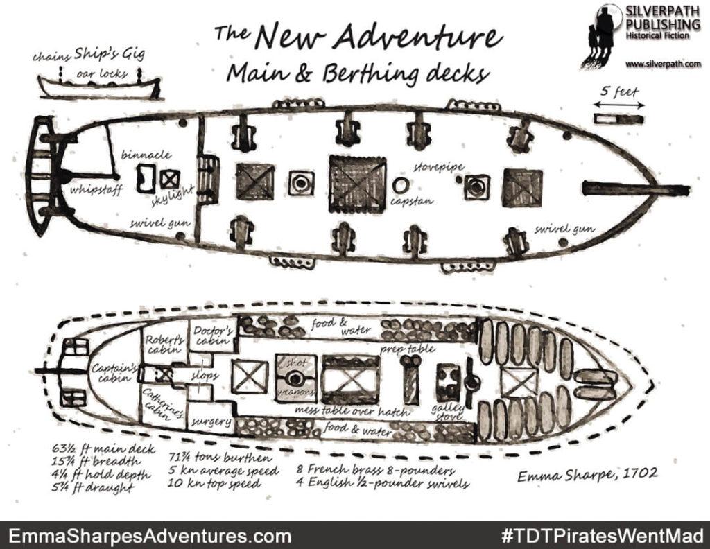 Silverpath.com - #TDTPiratesWentMad - The New Adventure - Main and Berthing Decks